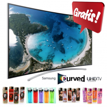 GRATIS Samsung Curved HD TV