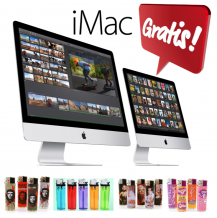 GRATIS Nieuwste Apple iMac 21,5 of 27 Inch