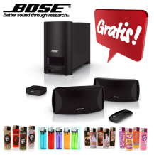 GRATIS BOSE Dolby Surround Set