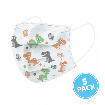 60x Sansie Care Kinder Mondkapje 5-Pack