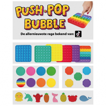 75x Push Pop Bubble